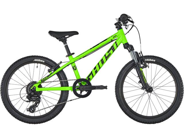 """Ghost Kato 2.0 AL 20"""" Børnecykel grøn"""